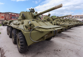 Self-propelled gun NONA-SVK