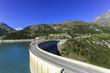 Hydro-electric Tignes dam, Isere valley, Savoie, France - 75290792