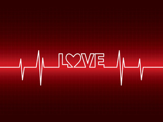 Heartbeat with love