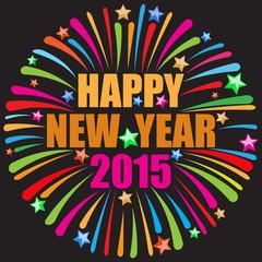 happy new year black
