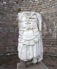 ruins in ancient city of Pergamon, Turkey