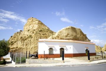 andalusia abitazione roccia