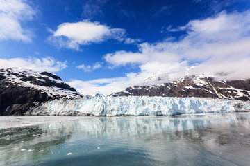 Margarie Glacier in Glacier Bay National Park, Alaska