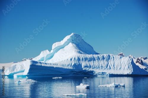 Deurstickers Antarctica 氷山