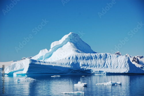 Foto op Plexiglas Antarctica 氷山
