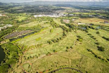 kauai golf course in Hawaii