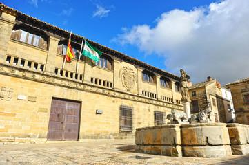 Populo Square, Baeza, Renaissance city, Jaen, Spain