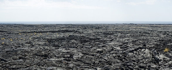 big island lava fields