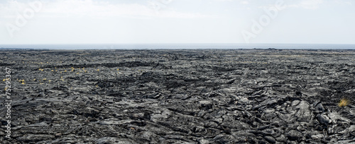 big island lava fields - 75295367