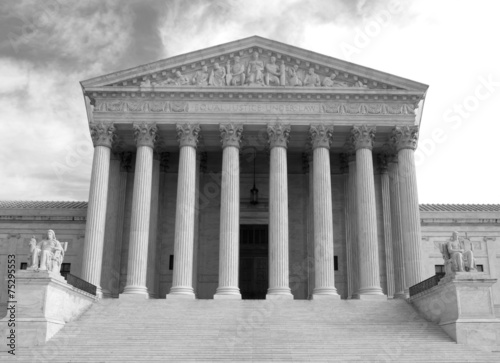 Fotografiet Supreme Court building in Washington, DC