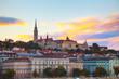 Постер, плакат: Old Budapest with St Matthias church