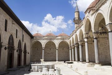 Courtyard of Ulu Mosque in Tarsus ,Turkey