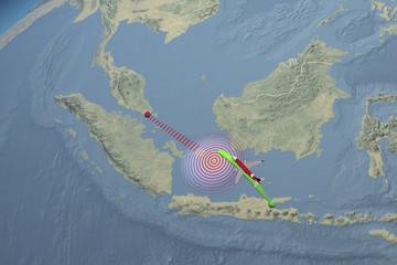 Percorso rotta aereo Air Asia scomparso