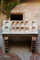 Famous balcony at the Juliet's house