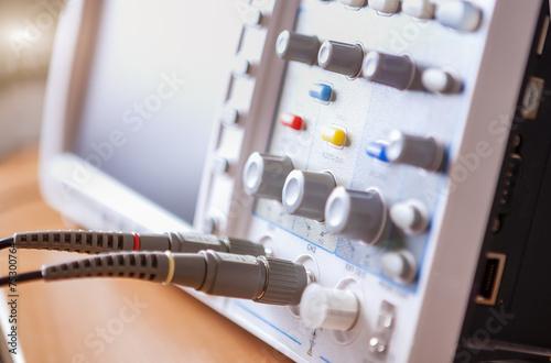 Closeup of Professional Laboratory Oscillograph - 75300764
