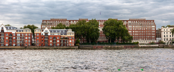 London Riverside Panorama view
