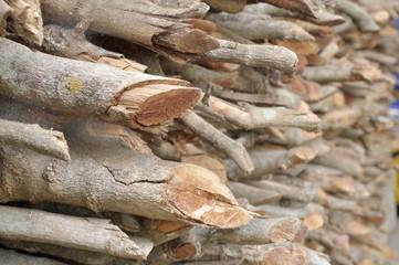 wood for winter season.