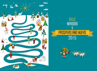 Arctic River Christmas 2015_spanish