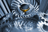 cogwheels and gears, oil and engineering parts