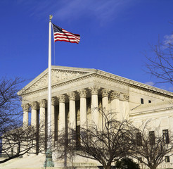 Supreme Court building in Washington, DC