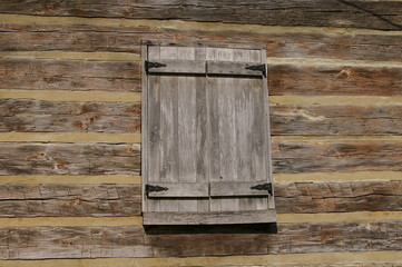 log window shutter