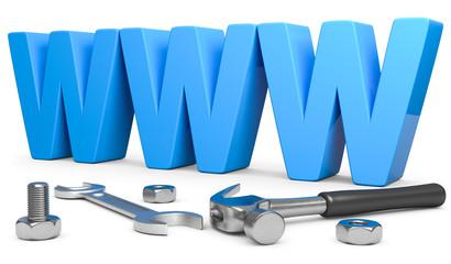 Website errichten