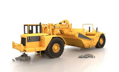 Road Building Machine - Shot 1