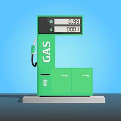 Modern Gas Pump
