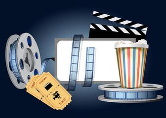 Cinematic set.