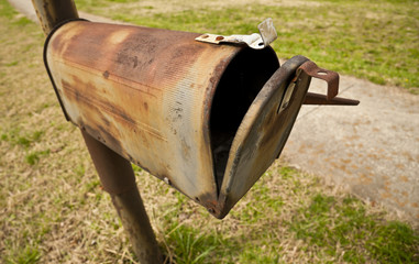 Obsolete Snail Mail Box