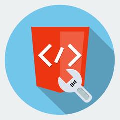 Fix code icon