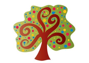 drzewo,wiosna,