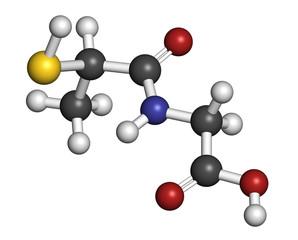 Tiopronin cystinuria drug molecule. Has orphan drug status.