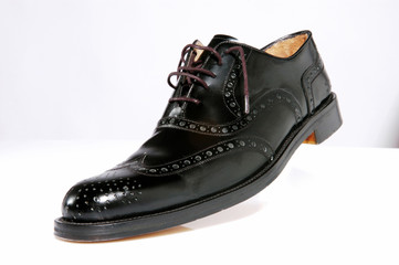 boots, black, classic, cleaning, leather, paste, polish, set