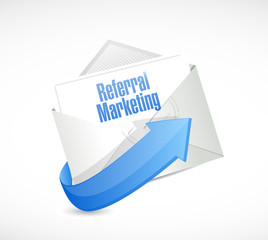 referral marketing email illustration
