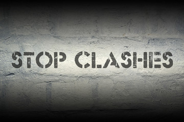 stop clashes