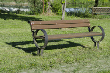 bench in cicka poljana