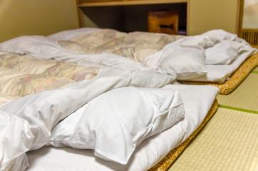 ふわふわの布団 温泉旅館