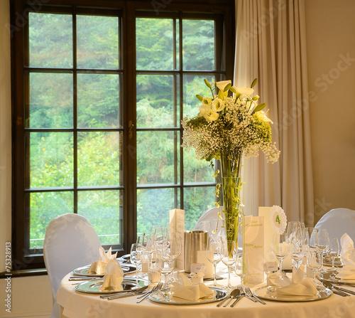 Papiers peints Table preparee festlich gedeckter tisch
