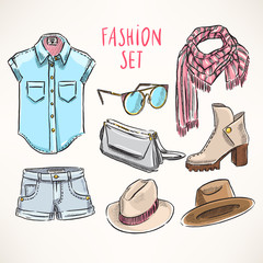 hand-drawn youth clothing - 2