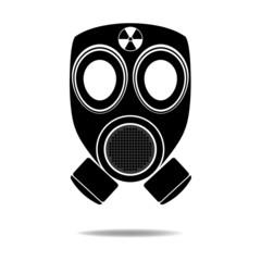 Gas Mask with Radioactive