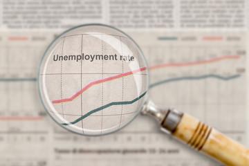unemployment rate - disoccupazione