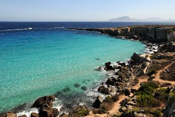 Egadi, spiaggia