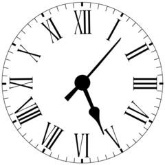 Uhr ziferblatt