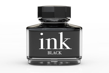 Black Ink Bottle