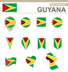 Guyana Flag Collection