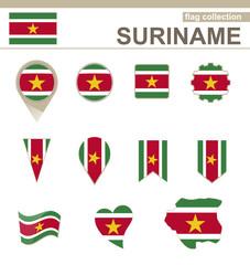 Suriname Flag Collection