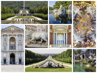 Caserta Royal Palace Collage