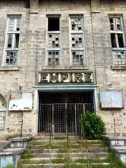 abandined cinema Bridgetown Barbados