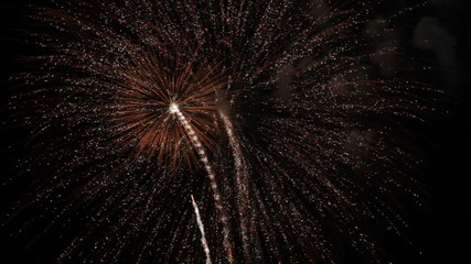Awesome fireworks with sound
